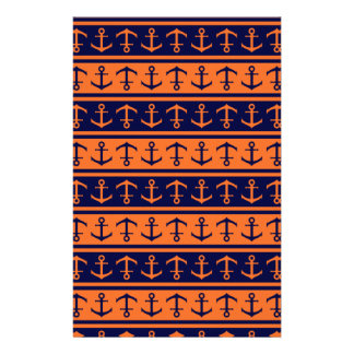 Nautical Halloween pattern Stationery