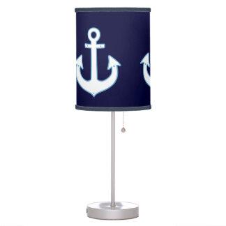 nautical home decor anchor table lamp