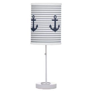 Nautical Lamp: Navy Table Lamp