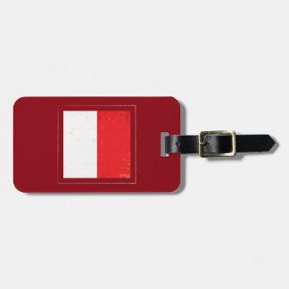 "Nautical Letter ""H"" Signal Flag Luggage Tag"
