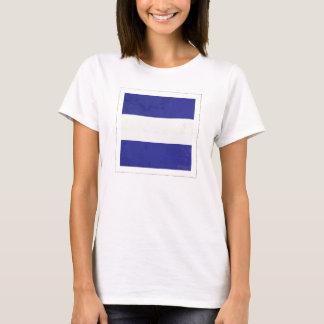 "Nautical Letter ""J"" Signal Flag T-Shirt"