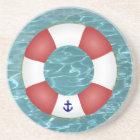 Nautical Life preserver Coaster