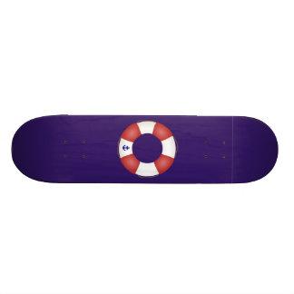 Nautical Life preserver Skate Board Decks