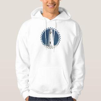 Nautical Lighthouse Hooded Sweatshirt