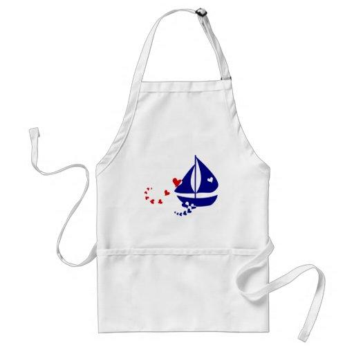 Nautical Love Standard Apron