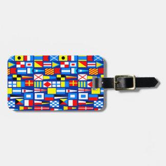 Nautical Luggage Tag - SRF