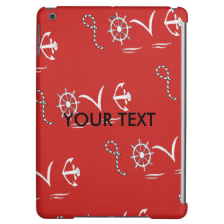 Nautical, marine love iPad air case