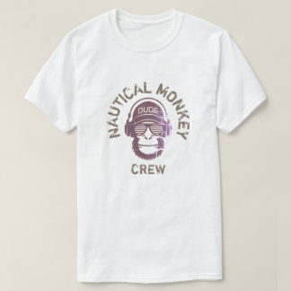 NAUTICAL MONKEY CREW T-Shirt