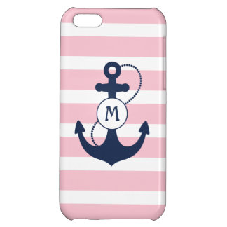 Nautical Monogram iPhone 5C Case