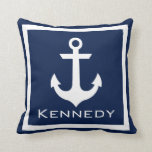 Nautical Name Pillow