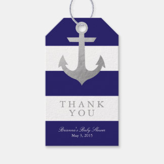Nautical Navy Baby Shower Pack Of Gift Tags