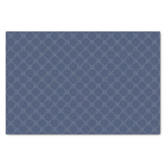 Nautical Navy Knot Tissue Paper