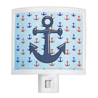 Nautical Nightlight with Anchors Night Light