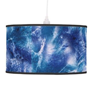 Nautical Ocean Blue Net Pendant Light, Table Lamp