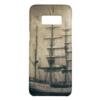 Nautical Ocean Sea Vintage Sailing sailboat Case-Mate Samsung Galaxy S8 Case