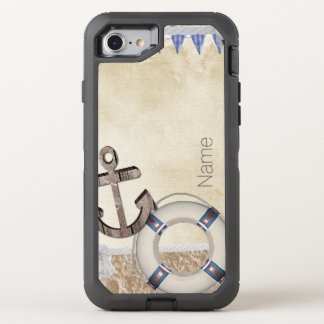 Nautical OtterBox Defender iPhone 7 Case
