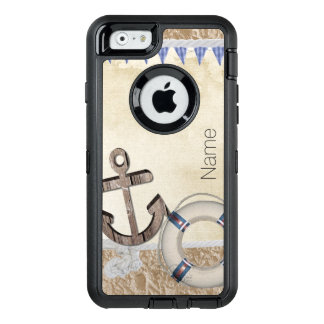 Nautical OtterBox Defender iPhone Case