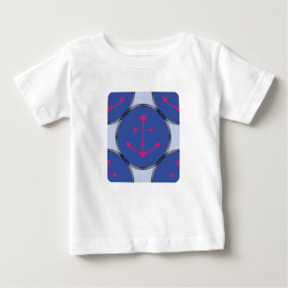Nautical_Patch-Anchor's_Toddler-Adult-Multi-Top's Baby T-Shirt