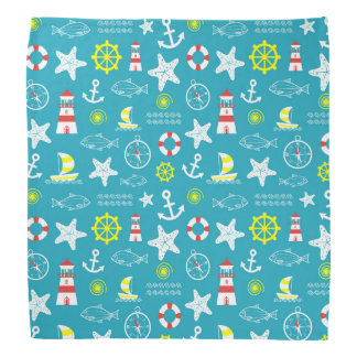 Nautical pattern do-rags