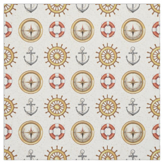 Nautical Pattern fabric