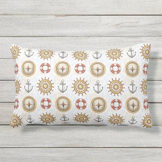 Nautical Pattern throw pillows