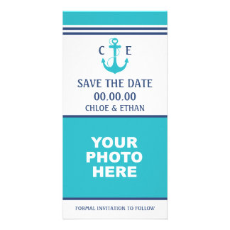 Nautical Photo Save the Date Card