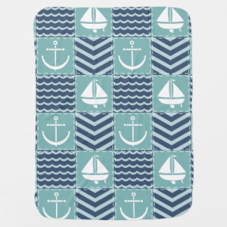 Nautical Quilt Baby Blanket