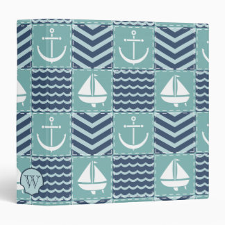Nautical Quilt Binder