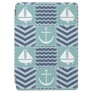 Nautical Quilt iPad Cover