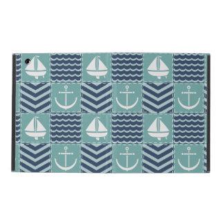 Nautical Quilt iPad Powis Case