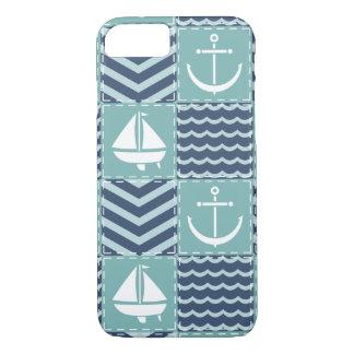 Nautical Quilt iPhone Case-Mate Case