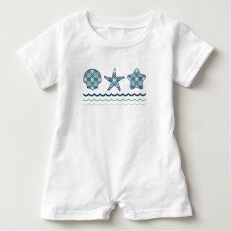 Nautical Quilt Kid's and Baby Shirt