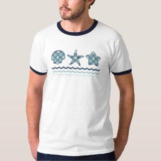 Nautical Quilt Men's Shirt