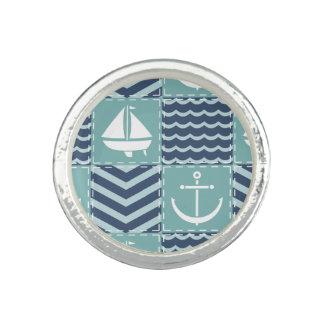 Nautical Quilt Ring