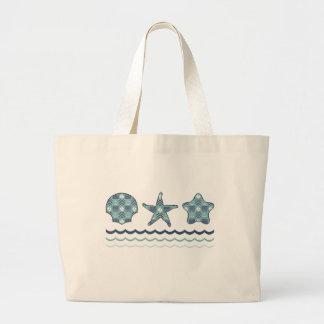 Nautical Quilt Tote Bag