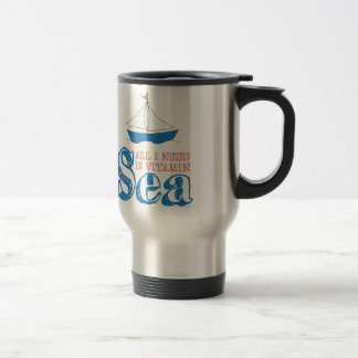 Nautical Quote Travel Mug