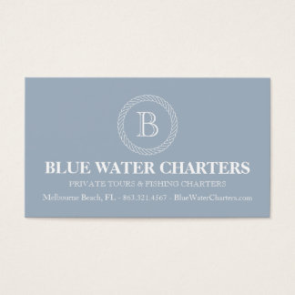 Boat charter business cards and business card templates for Fishing charter business cards
