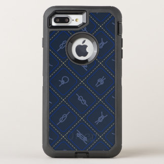 Nautical Rope Knot Pattern OtterBox Defender iPhone 7 Plus Case