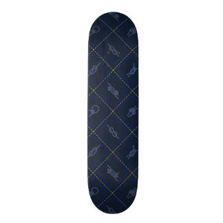 Nautical Rope Knot Pattern Skate Boards