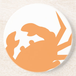 Nautical Sail Coaster - Orange Crab