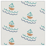 Nautical Sailboat Fabric