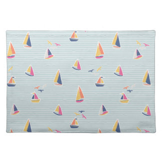 Nautical Sailboat Placemat