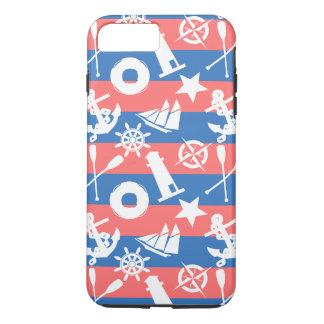 Nautical Sailing Pattern iPhone 7 Plus Case