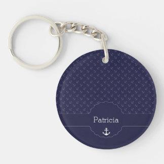 Nautical Sailor Captain Name Gifts Acrylic Keychains