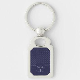 Nautical Sailor Captain Name Gifts Key Chain