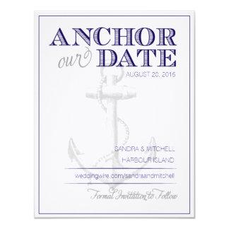 Nautical Save the Dates Card