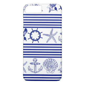 Nautical Sea Animals & Objects iPhone 7 Plus Case