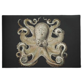 Nautical sea  Octopus decor welcome mat