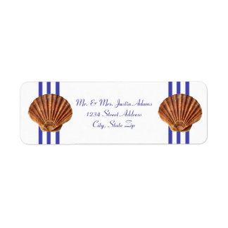 Nautical Seashell - Address Labels