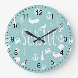 Nautical Seaside Clocks